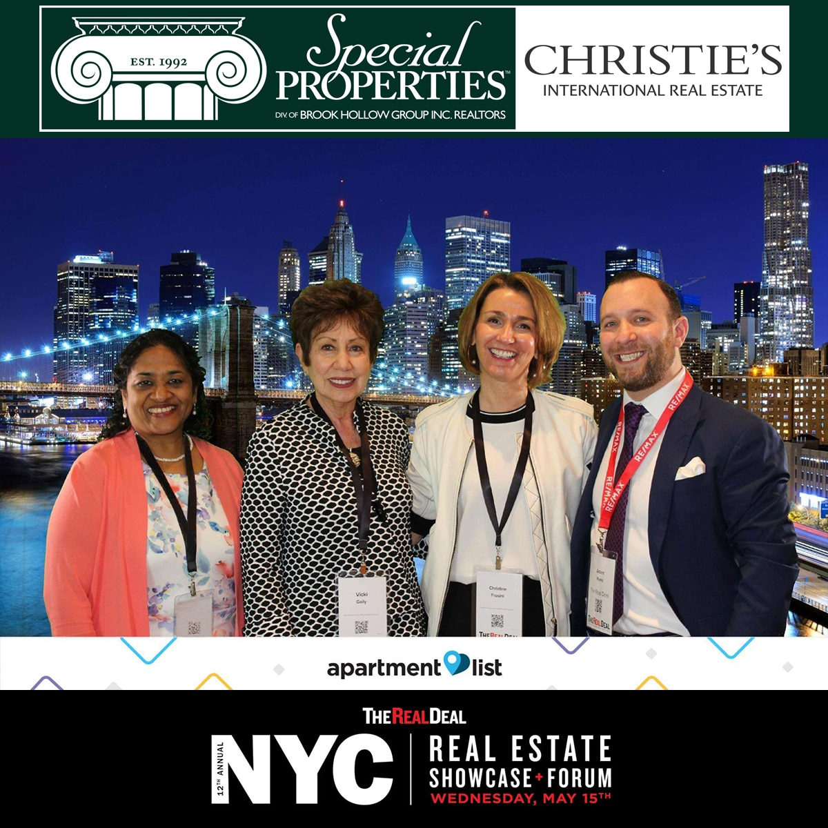 15ad2923 We attended The Real Deal 12th Annual NYC Real Estate Showcase & Forum  today and enjoyed listening to the Real Estate greats discuss industry  trends and the ...